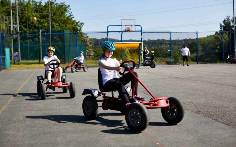 West Leeds Activity Centre go-karting