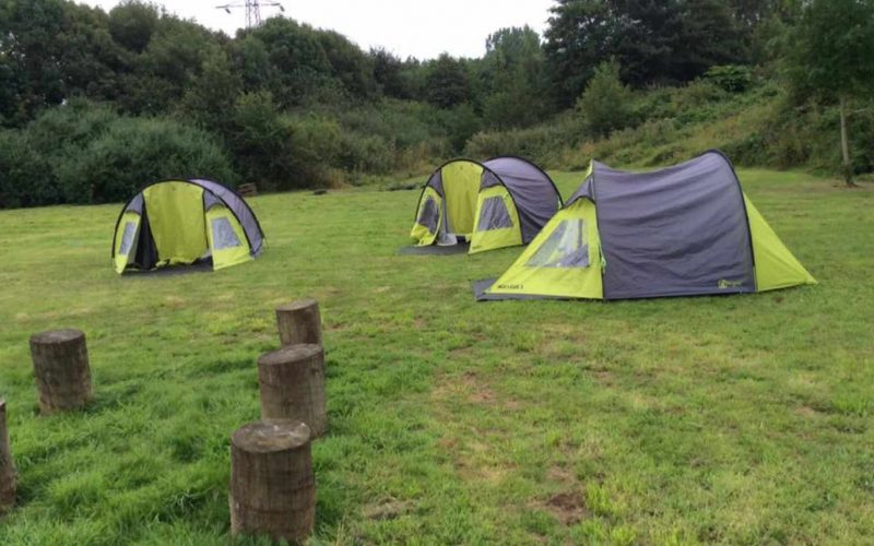 West Leeds Activity Centre camping