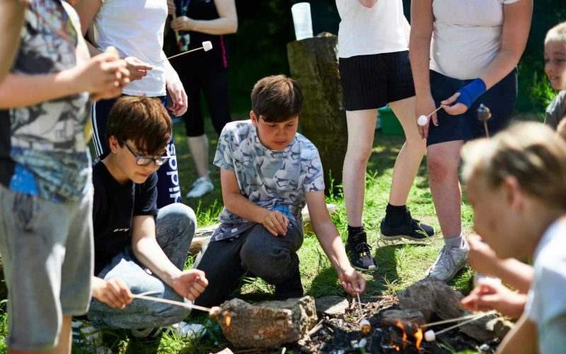 West Leeds Activity Centre bushcraft techniques